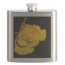 Yellow Rose Flask