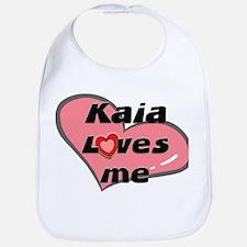 kaia loves me  Bib