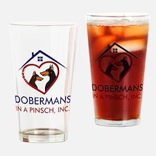 Cute Doggies Drinking Glass