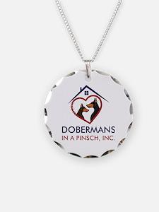 Cute Doberman rescue Necklace