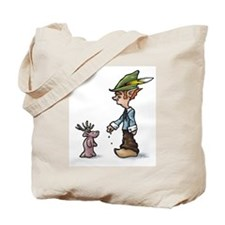 Luck With Strangers Elf Tote Bag