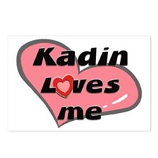 kadin loves me  Postcards (Package of 8)