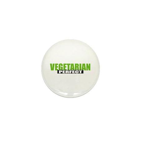 Perfect Vegetarian Mini Button (10 pack)