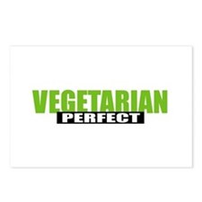 Perfect Vegetarian Postcards (Package of 8)