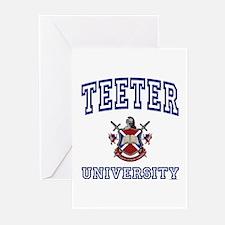 TEETER University Greeting Cards (Pk of 10)