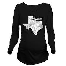 Bryson, Texas. Vinta Long Sleeve Maternity T-Shirt