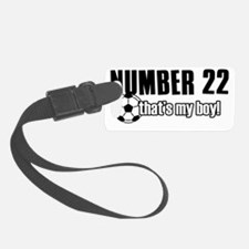 number22 Luggage Tag