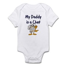My Daddy Is A Chef Infant Bodysuit