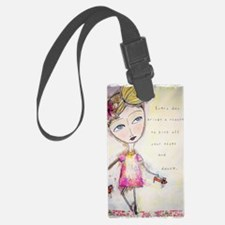 Kick off your shoes Luggage Tag