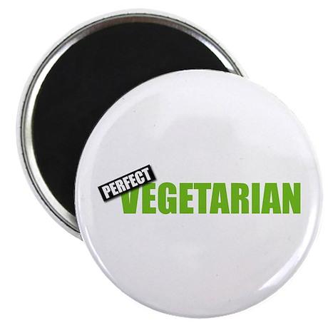 """Perfect Vegetarian 2.25"""" Magnet (10 pack)"""