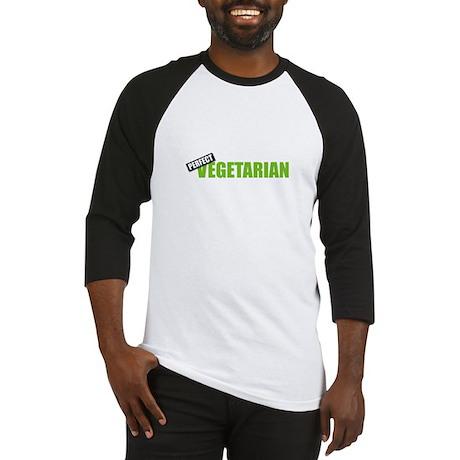 Perfect Vegetarian Baseball Jersey