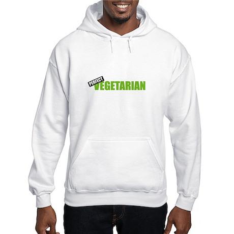 Perfect Vegetarian Hooded Sweatshirt