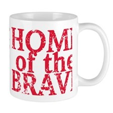 Home-of-the-Brave-Red Mug
