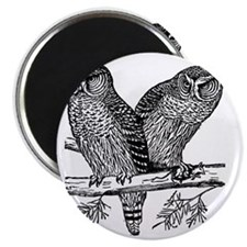 Two Owls Magnet