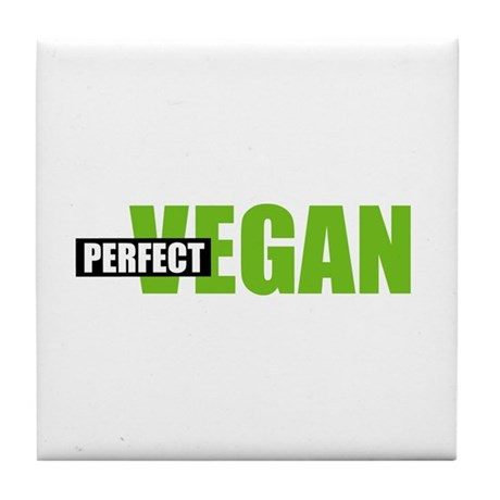 Perfect Vegan Tile Coaster