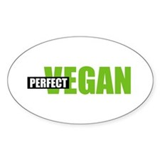 Perfect Vegan Oval Decal