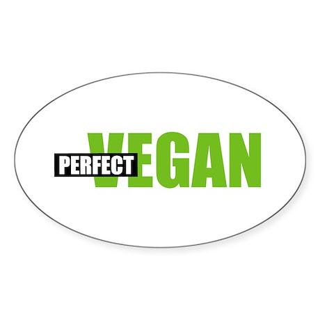 Perfect Vegan Oval Sticker