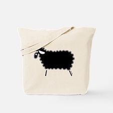 Single Black Sheep Tote Bag
