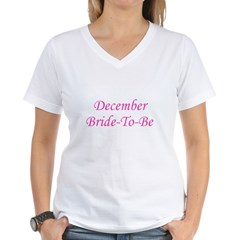 December Bride To Be Shirt