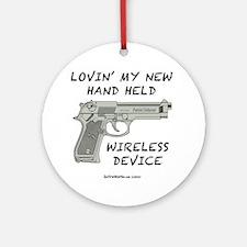 Wireless Device Round Ornament