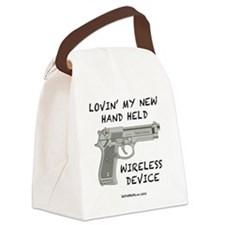 Wireless Device Canvas Lunch Bag