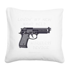 PATRIOTblk Square Canvas Pillow
