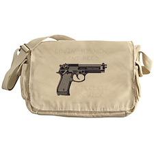 PATRIOTblk Messenger Bag