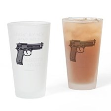 PATRIOTblk Drinking Glass