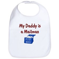 My Daddy Is A Mailman Bib