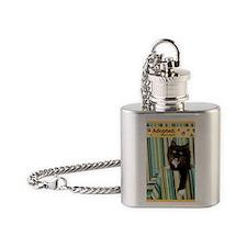 Cat Flask Necklace