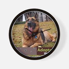 German Shepherd Dog Wall Clock