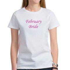 February Bride Women's T-Shirt