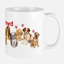 Dogs_Ruff_Crowd_B Mug