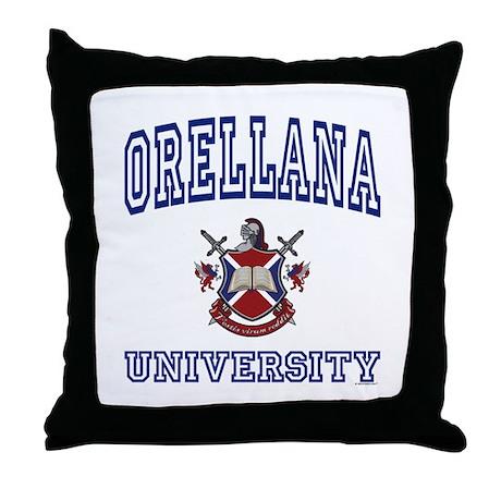 ORELLANA University Throw Pillow