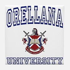 ORELLANA University Tile Coaster