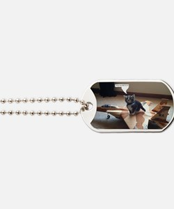 Kitty Fighter Pilot Dog Tags