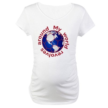 football_10x10_Americas_BR Maternity T-Shirt