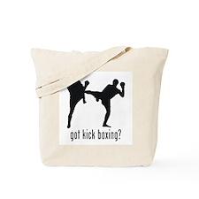 Kick Boxing Tote Bag