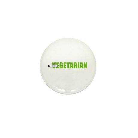 Perfect Vegetarian Mini Button