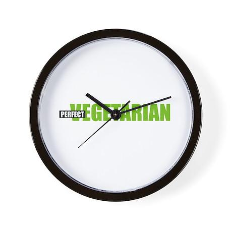 Perfect Vegetarian Wall Clock