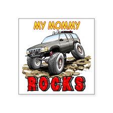 """MyMommyRocks2 Square Sticker 3"""" x 3"""""""