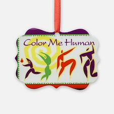 Color Me Human Ornament