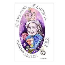 HRM Queen Elizabeth II Di Postcards (Package of 8)