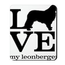 Love my Leonberger Mousepad