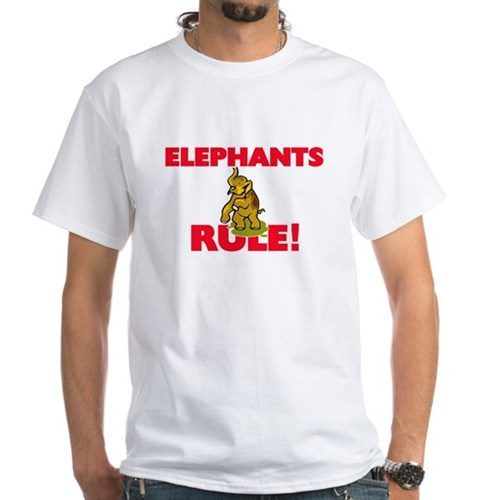 Elephants Rule! T-Shirt