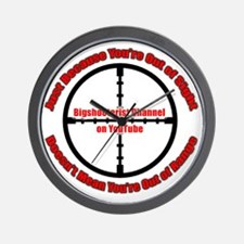 Bigshooterist Logo Wall Clock