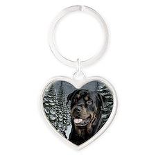 2012RottieOrn Heart Keychain