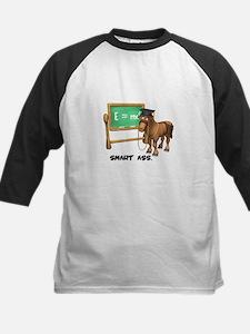 Smart Ass Donkey Kids Baseball Jersey