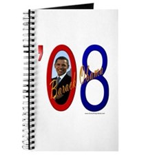Obama 08 Signature Journal