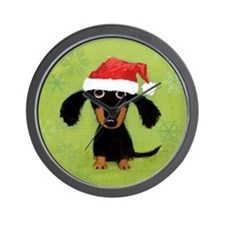 doxieornament Wall Clock